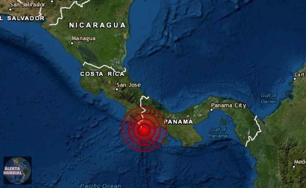 Sismo Panamá y Costa Rica
