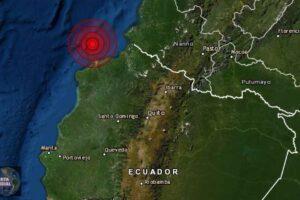 Sismo de magnitud 5.1 golpea las costas de Ecuador