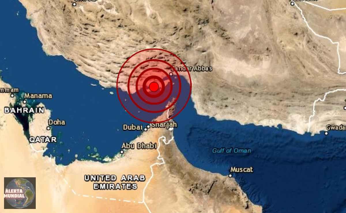 Sismo de magnitud 5.5 sacude Irán