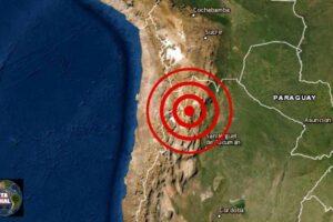 Sismo de magnitud 6.0 Argentina y Chile