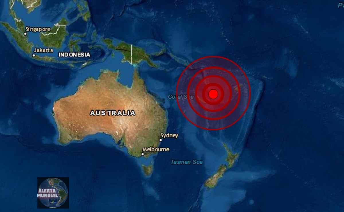 Sismo de magnitud 6.1 en Vanuatu, informa el USGS