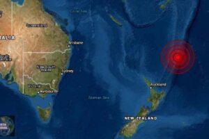 Sismo de magnitud 6.2 en la Isla Kermadec