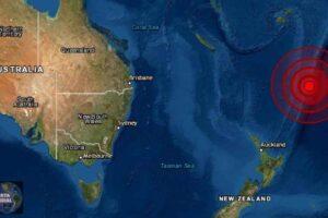 Sismo magnitud 6.3 golpea la Isla Kermadec de Nueva Zelanda