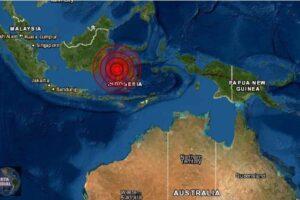 Un sismo de magnitud 6.2 sacude Indonesia