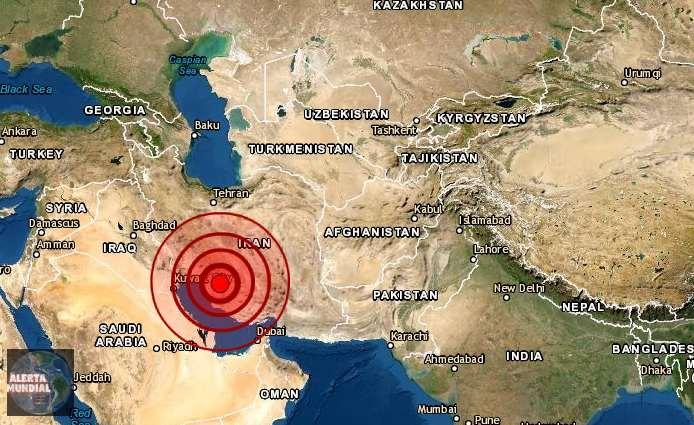 Fuerte sismo sacude Irán y deja varios heridos y daños en viviendas