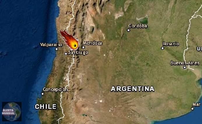 Meteorito se desintegra al atravesar el cielo de Chile y Argentina