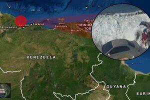 Se sale el mar en Carabobo de Venezuela