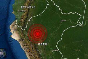 Sismo de magnitud 5.2 en Loreto, Perú