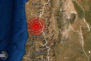 Sismo de magnitud 5.4 en Coquimbo de Chile