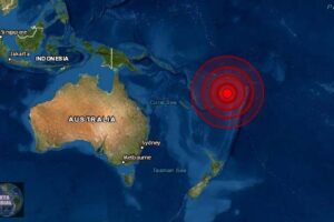 Sismo de magnitud 5.8 en Fiji