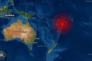 Sismo de magnitud 6.1 en Fiji