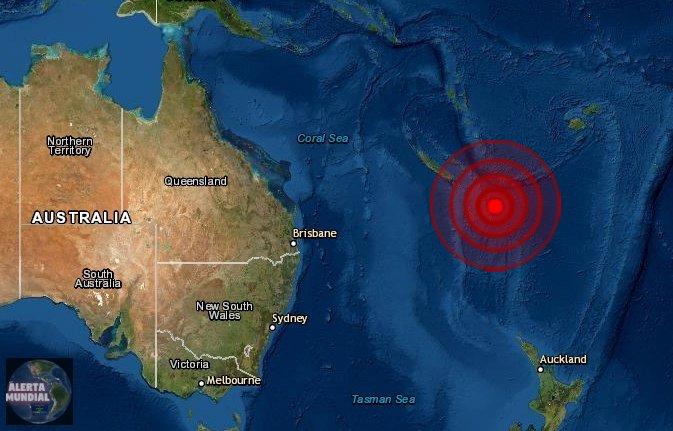 Sismo de magnitud 6.1 golpea la Isla Lealtad