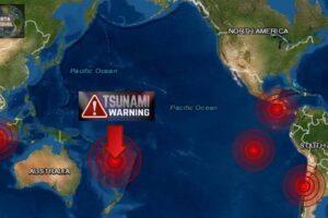Terremotos de 7.7, 5.7, 5.6, 6.2 y 5.4 golpea Chile, El Salvador, Indonesia, Islas Lealtad y Pacífico