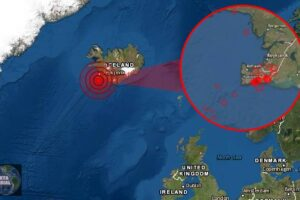 Un potente sismo sacude Islandia con una serie de más de 40 temblores