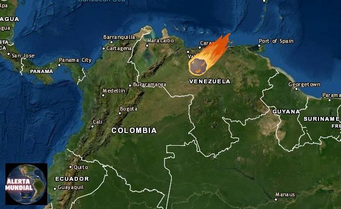 Una Bola de fuego provoca un temblor causando susto entre la población en Venezuela (VIDEOS)