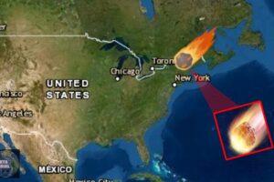 Meteoro explota con la fuerza de 440 libras de TNT, sacude edificios y causa temblor en EEUU