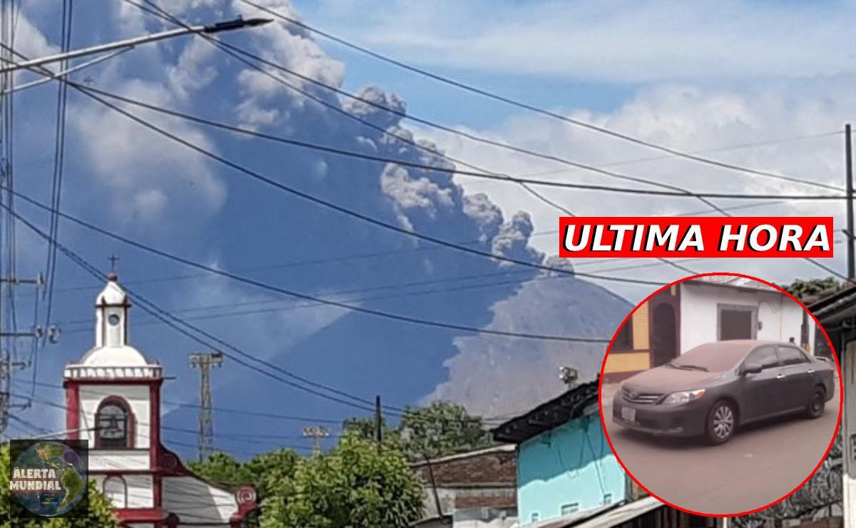 Nicaragua Entra en actividad el Volcán San Cristóbal arrojando cenizas