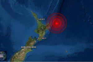 Fuerte replica de magnitud 6.4 sacude Nueva Zelanda