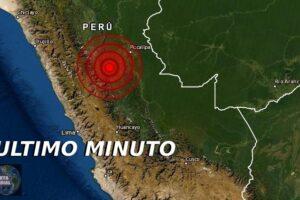 Sismo de magnitud 5.4 sacude Huanuco, Perú