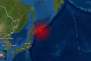 Sismo de magnitud 5.9 en Isla Kuriles, Rusia