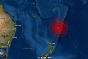 Masivo nuevos terremotos de magnitud 7.8 y 8.0 grados en el pacifico
