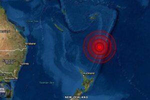 Terremoto de magnitud 7.5 Isla Kermadec, Nueva Zelanda