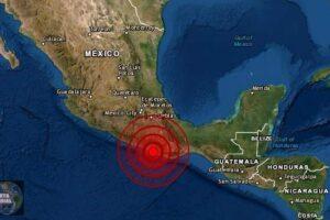 Un fuerte sismo de magnitud 5.9 sacude Guerrero, México