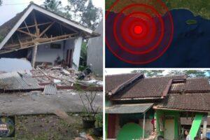 Al menos 7 muertos y edificios dañados tras un Potente sismo en Indonesia