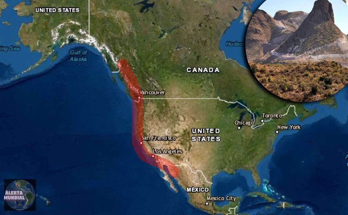Científicos en alerta por misterioso derretimiento en la corteza terrestre desde Canadá hasta México