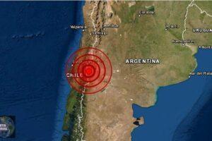 Fuerte sismo de 5.5 sacude el sur de Bio Bio, Chile