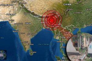 La India castigada por el Covid se estremece con un fuerte Terremoto (2)