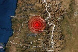 Se mueve la zona central de Chile ¿Lo sentiste
