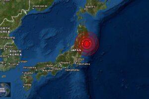 Se registra Terremoto de magnitud 6.7 en Japón