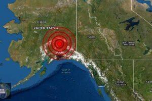 Sismo de magnitud 5.9 en Alaska