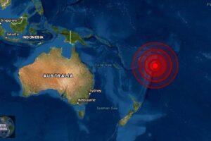 Sismo de magnitud 6.4 sacude Fiji, dice el USGS