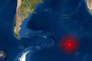 Sismo de magnitud 6.5 Islas Sandwich del Sur