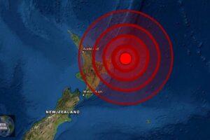 Sismo de magnitud 6,0 golpea Gisborne en Nueva Zelanda