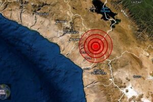Sismos de magnitud 3.8 y 5.0 se registra en Tacna, Perú