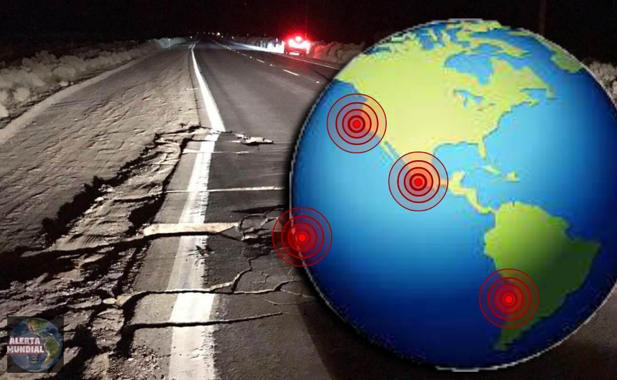 Sismos fuertes golpean a Chile, México, Oregon y Nueva Zelanda este jueves..