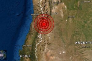 Sismo de magnitud 4.6 se registra en Santiago de Chile
