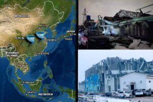 China Dos tornados dejan varias victimas y cientos de herido en Wuhan (VIDEOS)