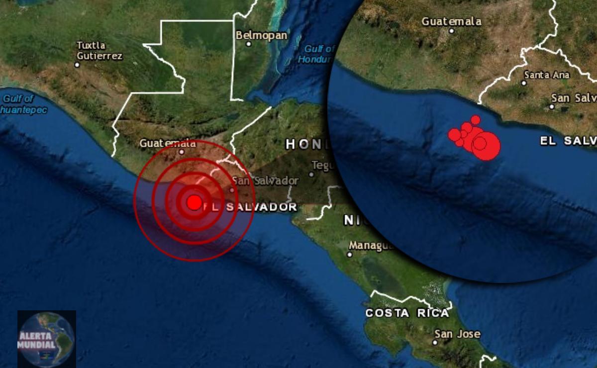 Dos potente sismos gemelos con varias replicas golpean gran parte de Guatemala y El Salvador