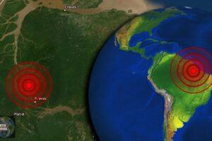 Fuerte sismo muy raro golpea Brasil y causa pánico