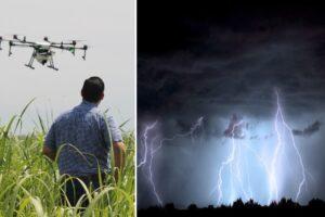Los científicos están usando drones para controlar el clima