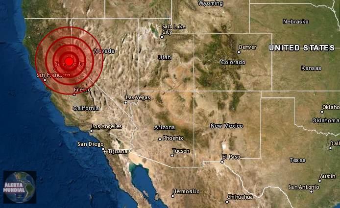 Sismo de magnitud 5.1 sacude el norte de California
