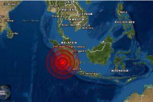 Sismo de magnitud 5.8 golpea Indonesia