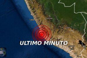 Sismo fuerte se registra en Ica del Perú ¿Lo sentiste