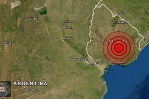 Un sismo extremadamente raro golpea Uruguay