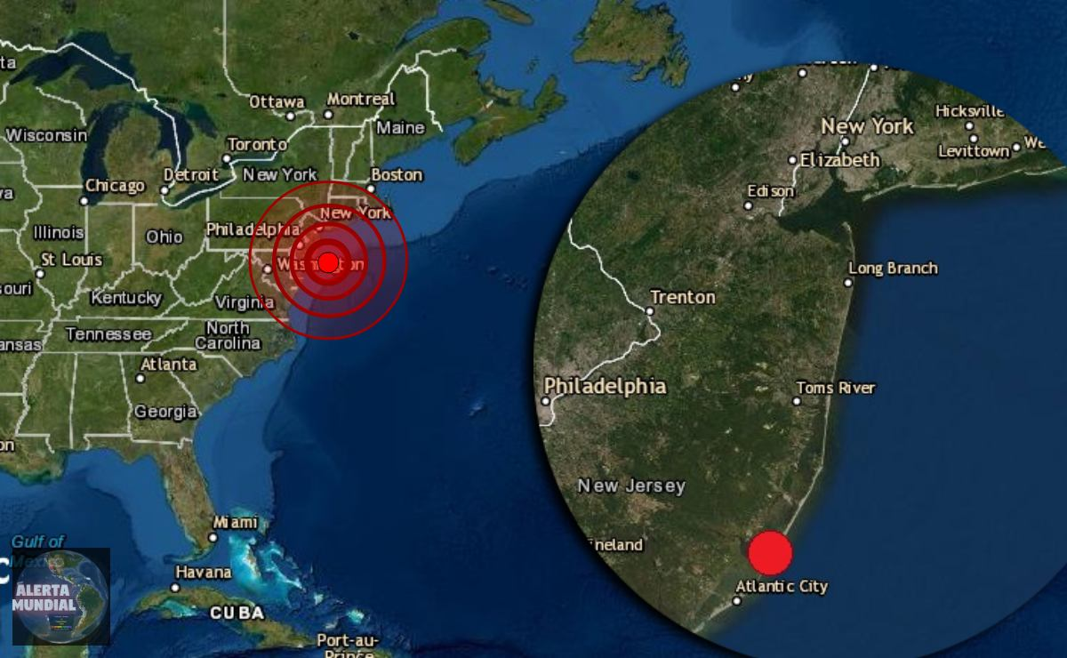 ¿Lo sentiste Inusual sismo matutino retumba en Nueva Jersey