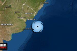 En vivo Un ciclón extratropical esta azotando Argentina y Uruguay